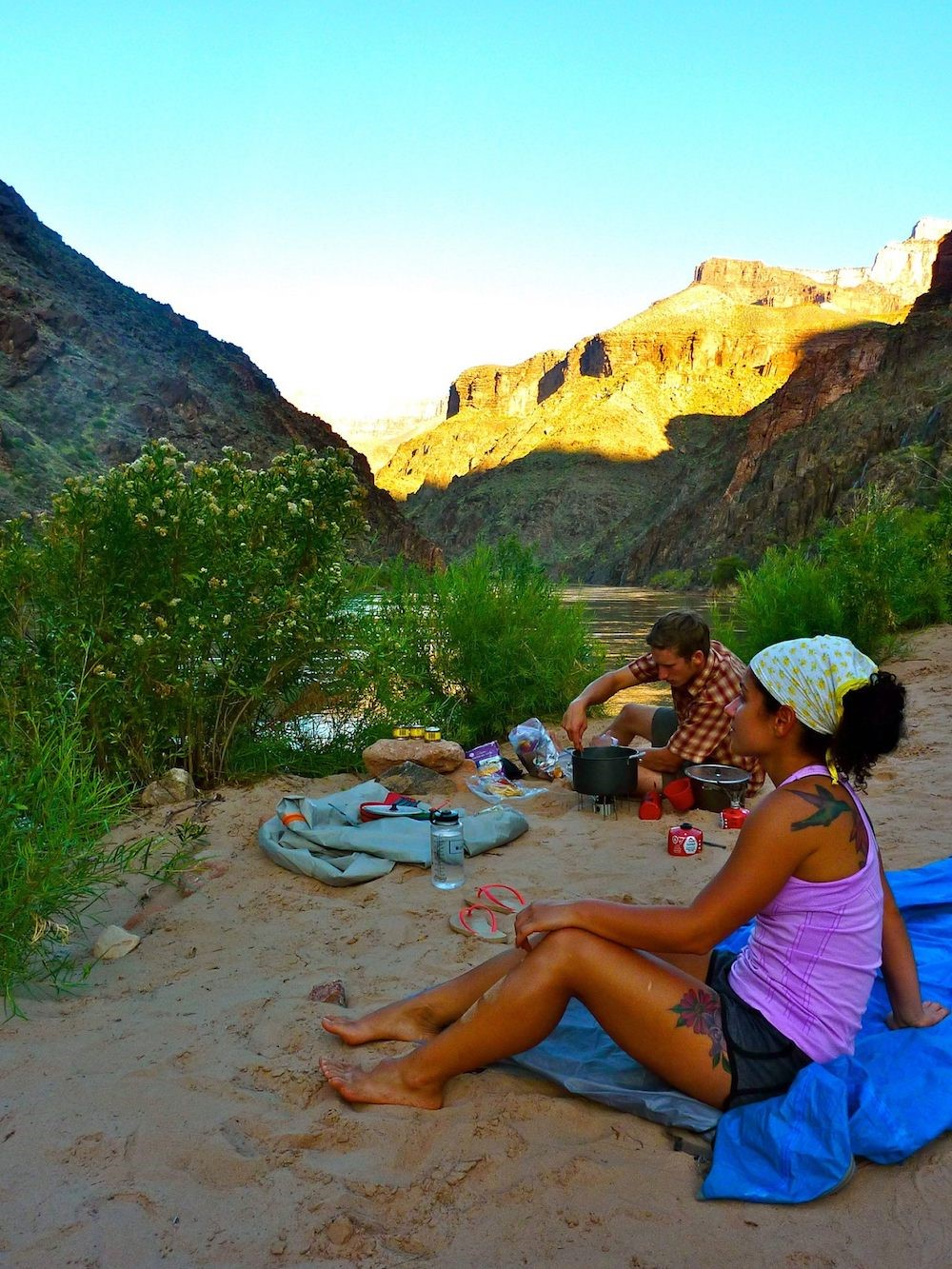Backpacking Grand Canyon 11