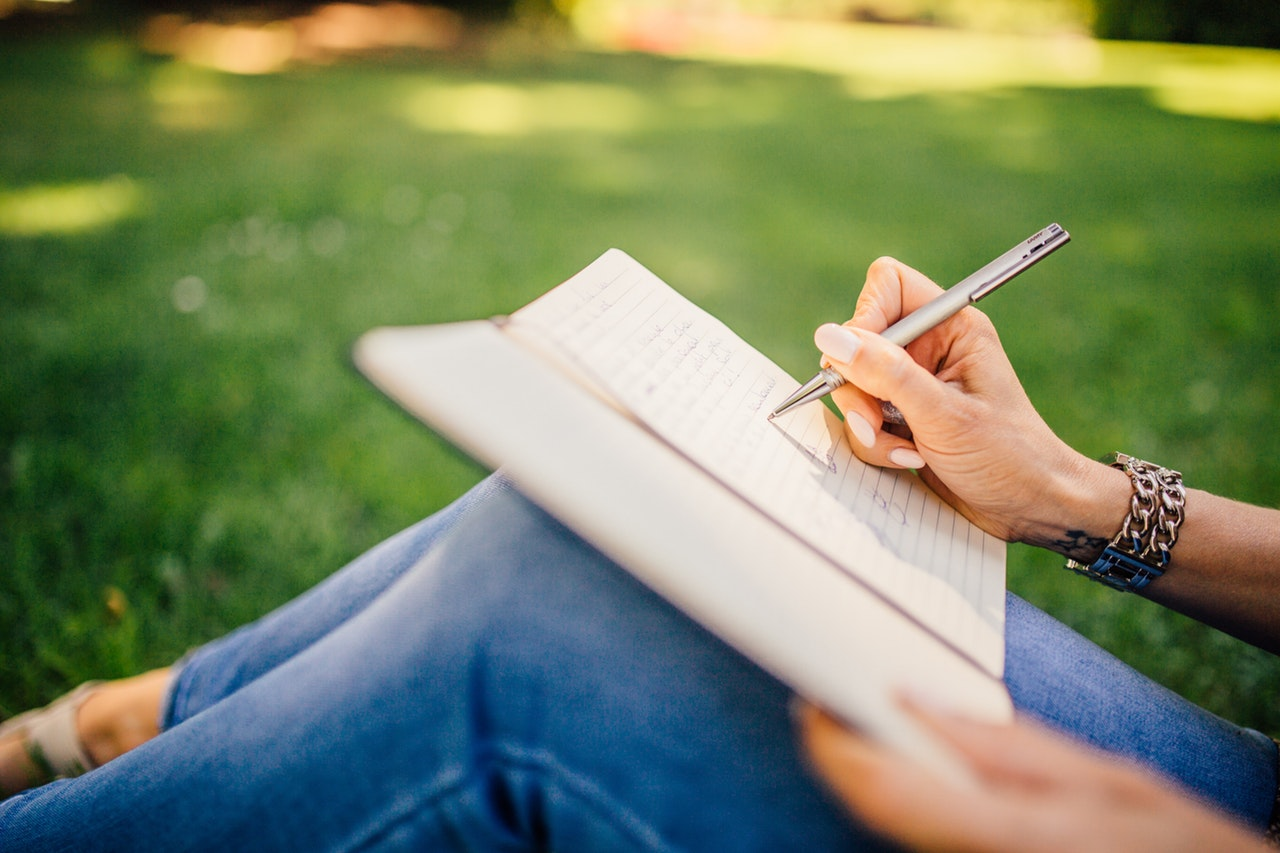 writing change