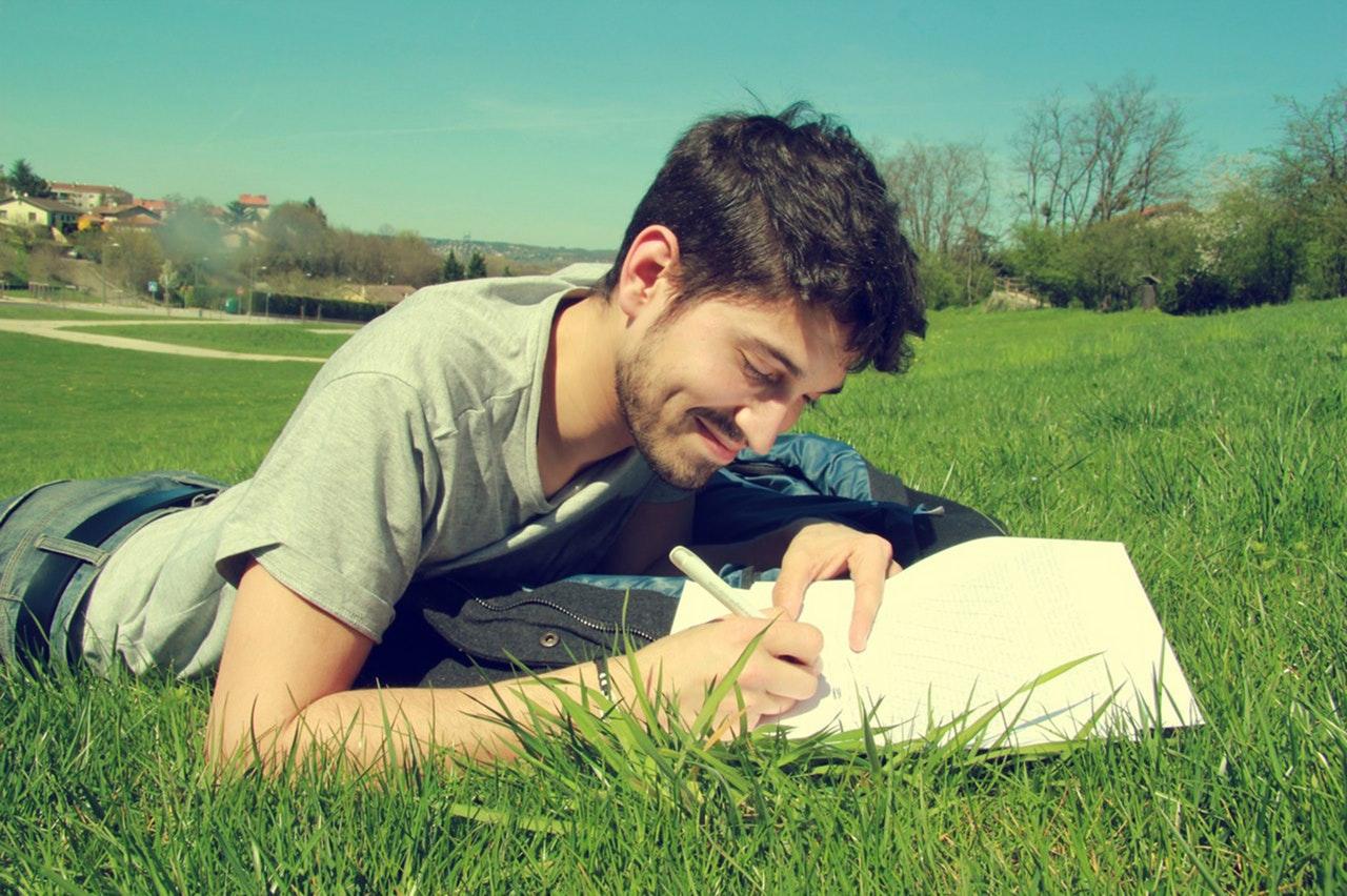 writing overcome stress